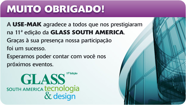 Fotos USE-MAK na Glass